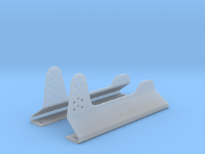 Race Seat Anchoring Kit - 1/10 in Frosted Ultra Detail