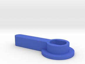 HOUR HAND PLASTIC in Blue Processed Versatile Plastic