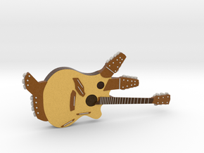Pikasso 42-string Guitar 1:18 in Full Color Sandstone