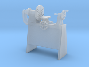 Metal Lathe S Scale in Smooth Fine Detail Plastic