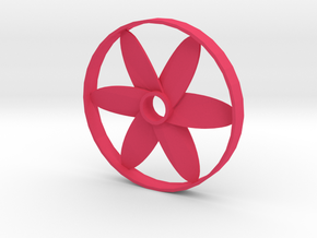 Ventilator in Pink Processed Versatile Plastic