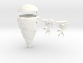 Robot Knight in White Processed Versatile Plastic