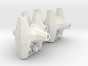 HO/1:87 Core-loc 3m x3 kit in White Natural Versatile Plastic