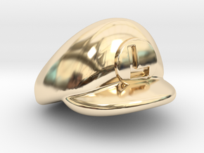 L-Plumber Cap in 14K Yellow Gold