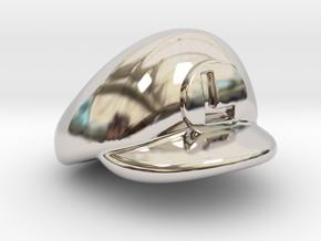 L-Plumber Cap in Platinum