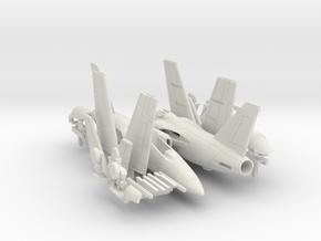 001J AMX Pair 1/144 in White Natural Versatile Plastic