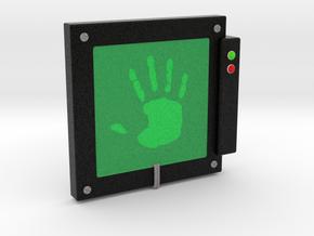 """Handscanner for 4"""" figures (3 3/4"""" or 1:18 scale) in Full Color Sandstone"""