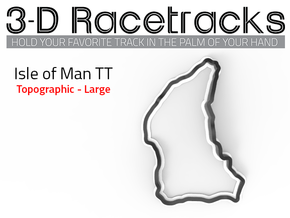 Isle of Man TT - Mountain Course | Large in Full Color Sandstone