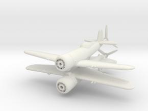 1/200 IAR 80 Romanian WW2 Fighter in White Natural Versatile Plastic