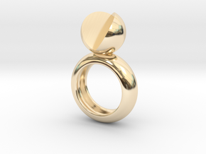 SIMPLY LOVE - size 6 in 14K Yellow Gold