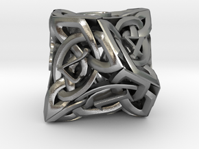 Celtic D10 in Natural Silver