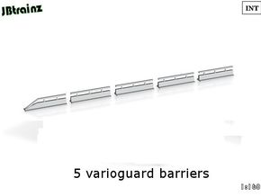 Varioguard Barrier (n-scale) in Frosted Ultra Detail