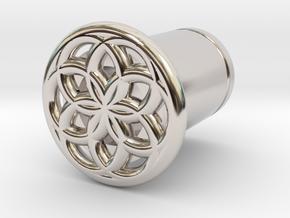 Seed Of Life plug in Platinum