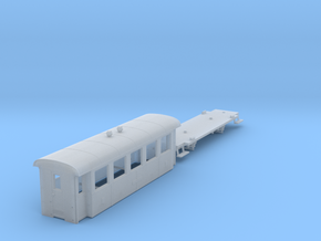 ZB (H0e) - 5-Fenster-Personenwagen B19 (alt) in Frosted Ultra Detail