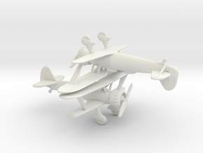 1/200 Henschel HS 123 x2 in White Natural Versatile Plastic