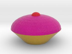 Cup Cake in Full Color Sandstone