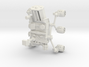 Mars Rover in White Natural Versatile Plastic