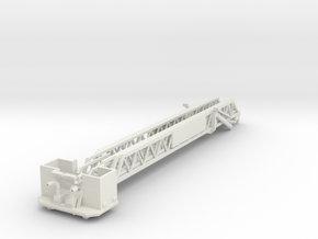 HO 1/87 Pierce Platform: retracted-platform (repai in White Strong & Flexible