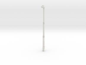 HO 1/87 Pierce Platform: extended-platform  in White Natural Versatile Plastic
