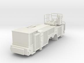 HO 1/87 Pierce Platform: Body in White Natural Versatile Plastic
