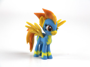 My Little Pony - Spitfire (≈70mm tall) in Full Color Sandstone