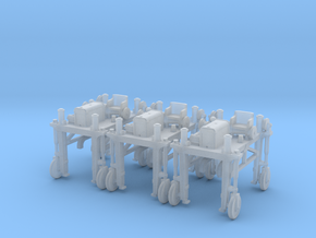 H0 logging - Gerlinger Lumber Carrier (3 pcs) in Frosted Ultra Detail