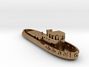 005A 1/350 Tug boat in Natural Brass