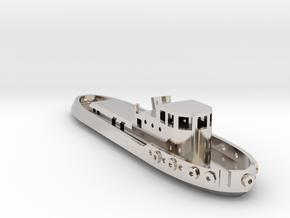 005B 1/350 Tug Boat in Platinum