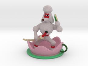 Teacup Poodle Ninja in Full Color Sandstone