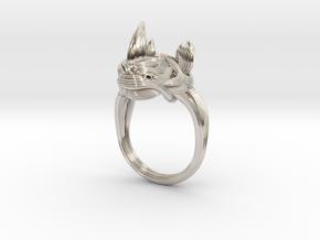 Rhinoceros Ring  in Platinum: 7.5 / 55.5