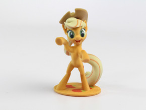 My Little Pony - AppleJack (≈85mm tall) in Full Color Sandstone