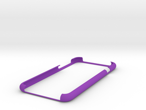 IPhone6 Bumper Open Style 1 in Purple Processed Versatile Plastic