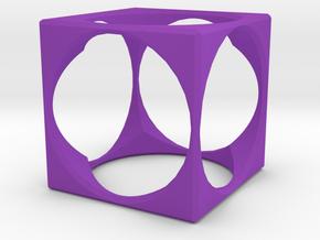 Ring15(18mm) in Purple Processed Versatile Plastic