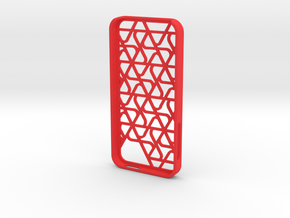 Iphone 5 Case Math in Red Processed Versatile Plastic