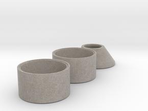 Schachtringe mit Falz DN1200-700 (1:45) in Full Color Sandstone