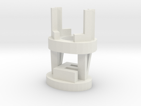 Love - Pen Stand in White Natural Versatile Plastic