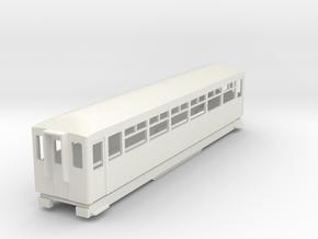 BM4-108 009 FR Coach 117 in White Natural Versatile Plastic