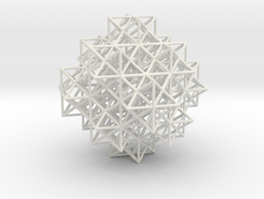 Escher's solids filling space in White Natural Versatile Plastic