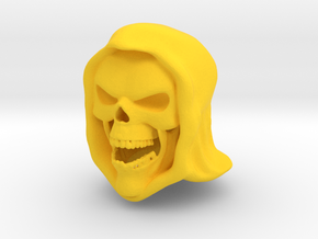 Filmation Skeletor (rage face) in Yellow Processed Versatile Plastic