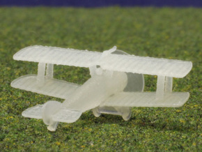 """Sopwith 2F1 """"Ship's Camel"""" in Smooth Fine Detail Plastic: 1:288"""