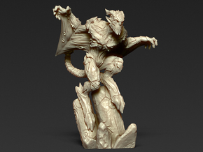 Gargoyle - unit 2 - Miniature 28/30mm Scale in Frosted Ultra Detail