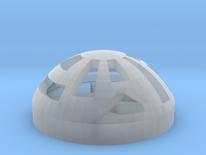 Button Dome in Frosted Ultra Detail