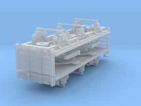 ZB (H0e) - 3ax-Drehschemelwagen-Paar in Smooth Fine Detail Plastic