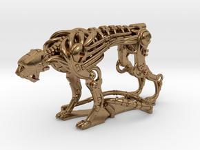 Robot Cheetah 50% in Natural Brass