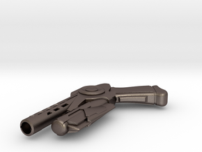 Enders Gun in Polished Bronzed Silver Steel