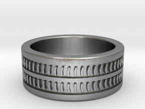 Hank's Ring in Raw Silver