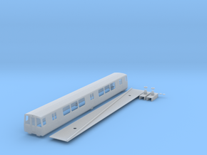 n scale 1:160 washington dc Metro 1000 series in Frosted Ultra Detail