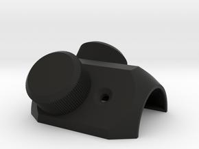4X20 Scope Adjuster Assembled in Black Natural Versatile Plastic
