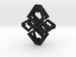 HEAD TO HEAD  Ahead, Pendant in Black Natural Versatile Plastic