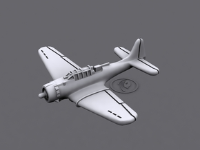 1/900 Douglas SBD Dauntless (x6) in Smooth Fine Detail Plastic
